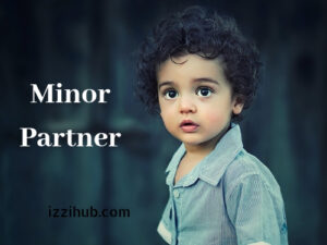 Minor as a partner