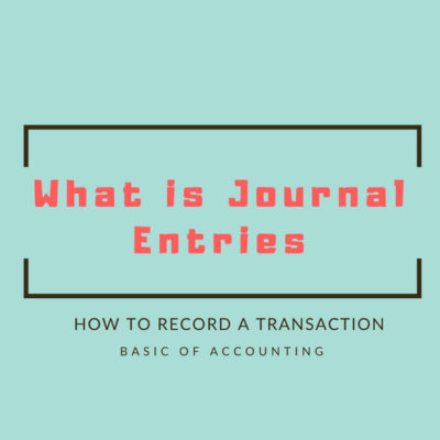 What is journal entries