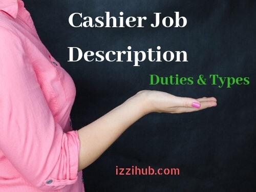 Cashier Job Description