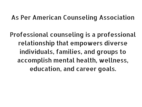 Counseling Definition