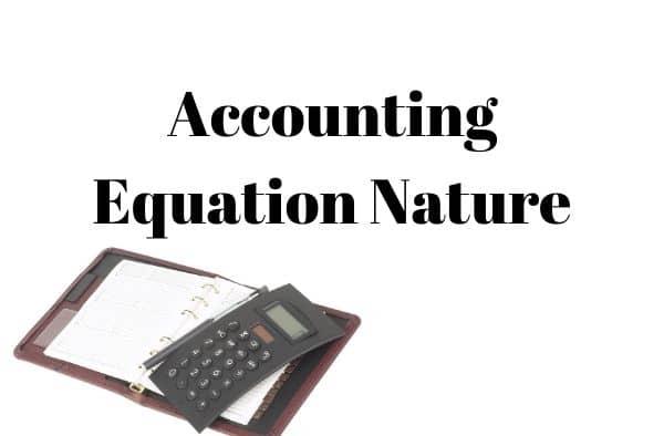 accounting equation Formula