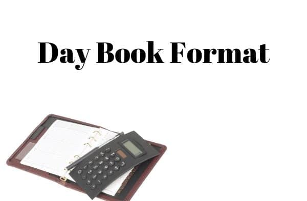 day book format