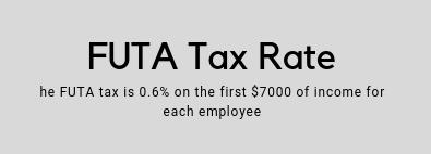 Futa Tax Rate