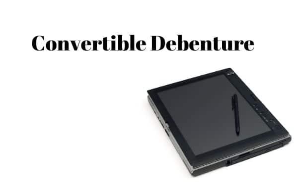 Case Study of Convertible Debenture