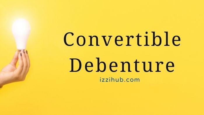 Convertible Debenture